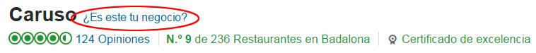 Mejorar la reputación online de tu Restaurante en TripAdvisor