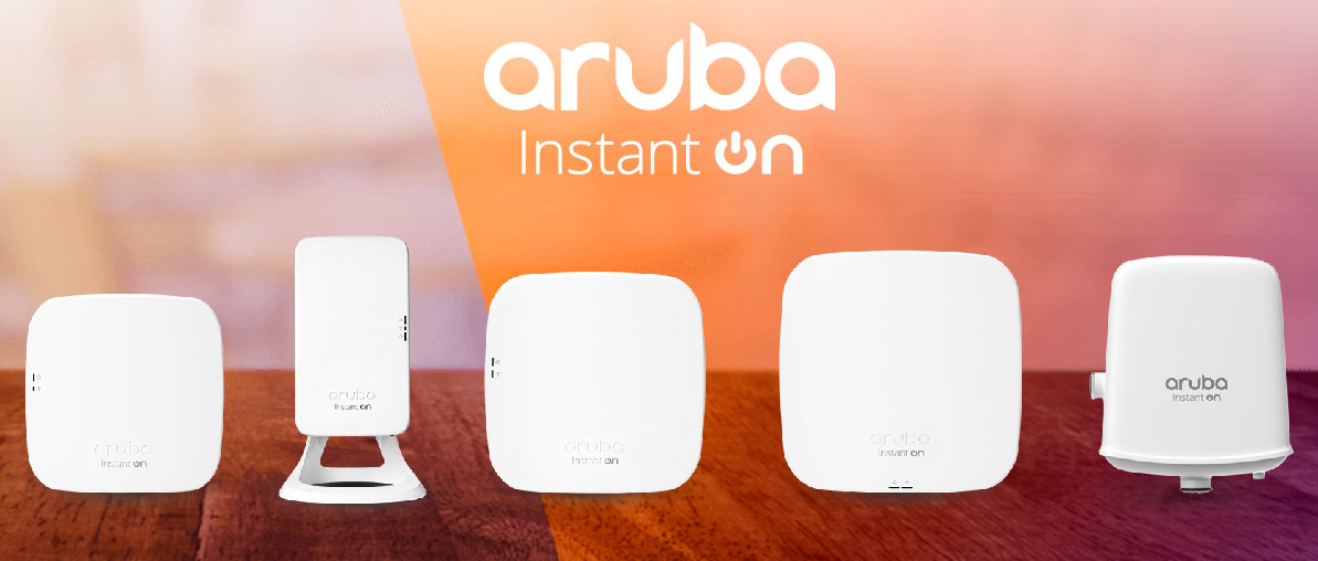 Aruba Instant On WiFi Marketing